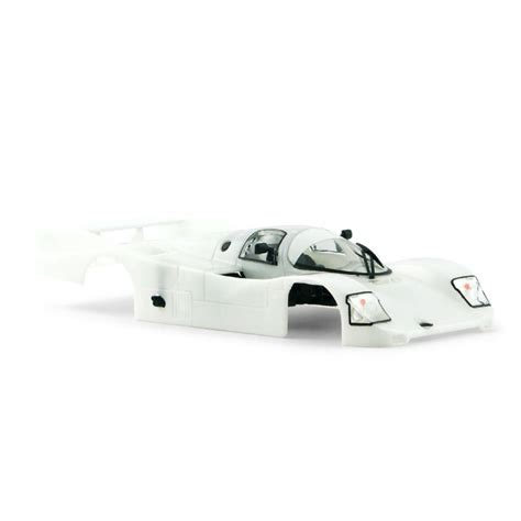 Perfectly produced white metal parts, photo etched parts, decals, turned and milled parts, cast resin castings. Porsche 962 White Body Kit