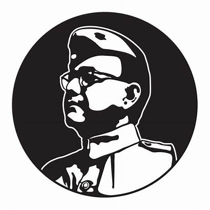 Freedom Fighters Clipart India Chandra Bose Subhash