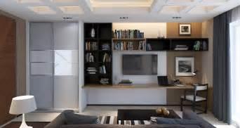 interior design home study 3d design study room in a contemporary style