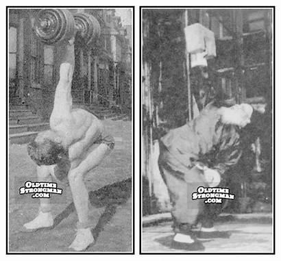 Interesting Bent Press Comparison Oldtimestrongman