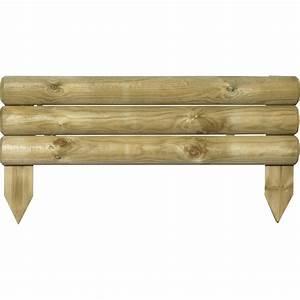 Bordure De Jardin Leroy Merlin : bordure planter bois naturel x cm leroy merlin ~ Melissatoandfro.com Idées de Décoration