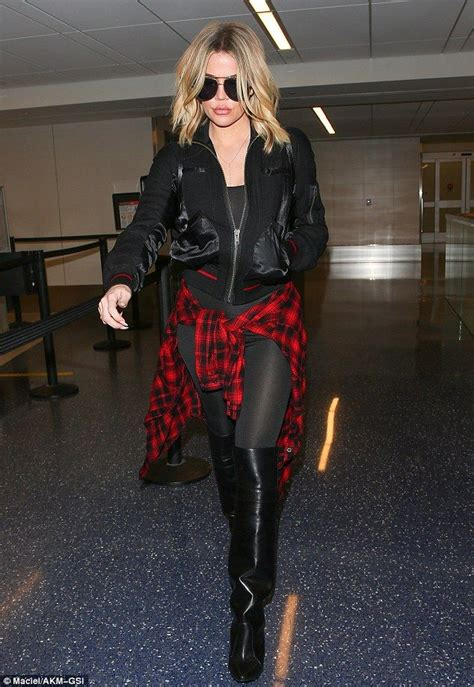 Khloe Kardashian's over the knee-high boots | Khloe ...