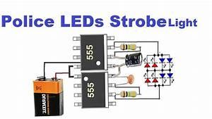 Led Police Lights  U0026 Sirens