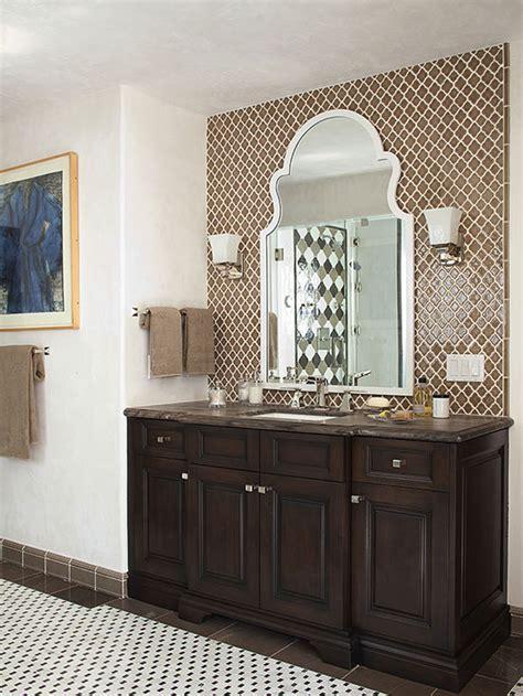 backsplash ideas for bathrooms our best ideas for a bathroom backsplash
