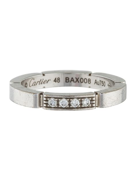cartier panthere wedding ring cartier maillon panth 232 re wedding band ring rings crt32826 the realreal