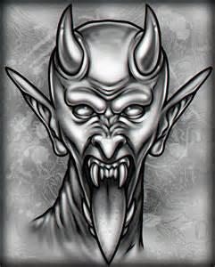 Tattoo Devil Face Drawings