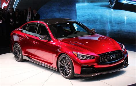 Infiniti Q50 Eau Rouge Prototype Makes Dynamic Debut At