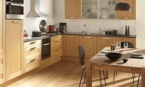 deco cuisine nature With deco cuisine avec meuble en bois