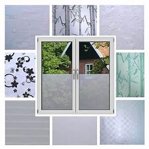 Sichtschutz Fenster Bad : 7 3 m fensterfolie sichtschutz statische folie fenster bad milch glasfolie ebay ~ Sanjose-hotels-ca.com Haus und Dekorationen