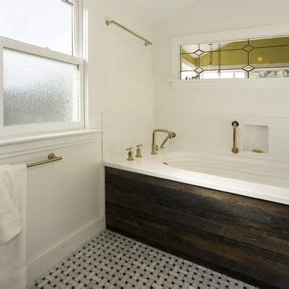 wood panel tub skirt design ideas pictures remodel