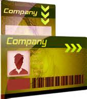 id cards design software generates school employee photo