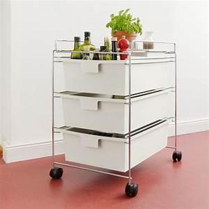 Rollwagen rollcontainer mobel kuche pc buro stahlrohr for Rollcontainer küche