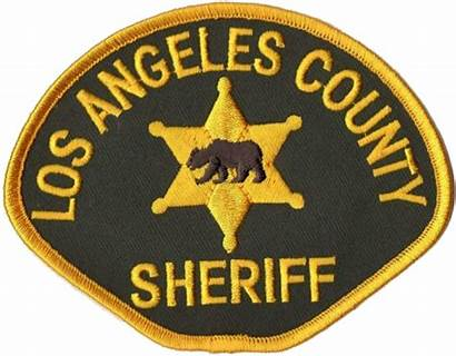 Sheriffs Angeles Los County Department Patch