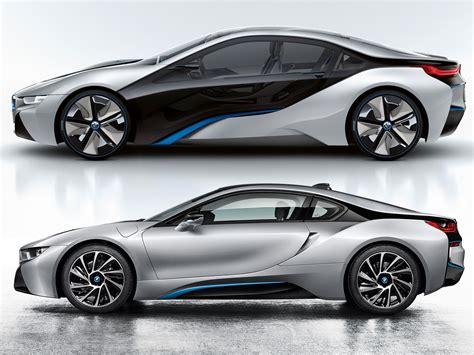 bmw  concept  production version comparison car