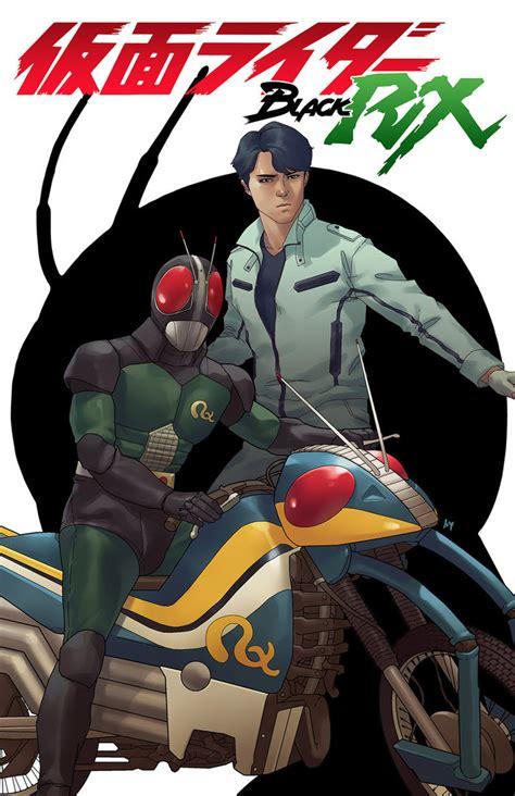 kamen rider black rx americano cria revista em quadrinhos homenageando o ator da serie hqfan