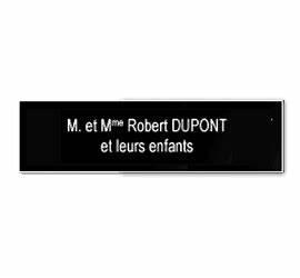 Plaque Boite Aux Lettres Adhesive : plaque boite aux lettres ~ Melissatoandfro.com Idées de Décoration