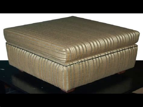 How To Build A Ottoman by How To Build An Ottoman