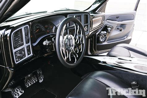 2003 Chevy Silverado Interior by 2003 Chevy Silverado 1500hd Threat Truckin Magazine