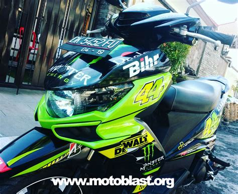 xeon gt 125 eagle modifikasi xeon gt125 eagle black jadi tech3