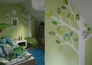 Deko Kinderzimmer Junge : wandfarben ideen kinderzimmer dachschr ge junge pastellgr n deko b ume baby pinterest kids ~ Indierocktalk.com Haus und Dekorationen