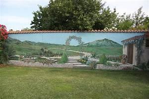 superb trompe l oeil exterieur jardin 14 trompe oeil With trompe l oeil exterieur jardin