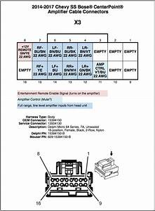 2014 Silverado Bose Speaker Wiring Diagram : bose amplifier connector details chevy ss forum ~ A.2002-acura-tl-radio.info Haus und Dekorationen