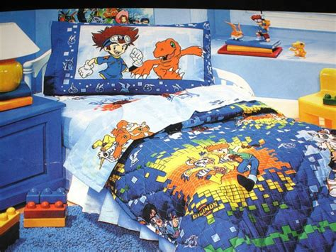 Digimon Bedding And Bedroom Decor
