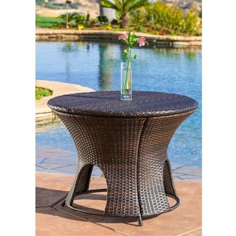 Great savings & free delivery / collection on many items. Christopher Knight Home Rodolfo Wicker Multi-brown Outdoor ...