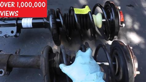 front shock strut replacement  basic hand tools