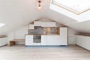 Isolation Des Combles Au Sol : loft sous comble am nag pour location structures apparentes ~ Premium-room.com Idées de Décoration