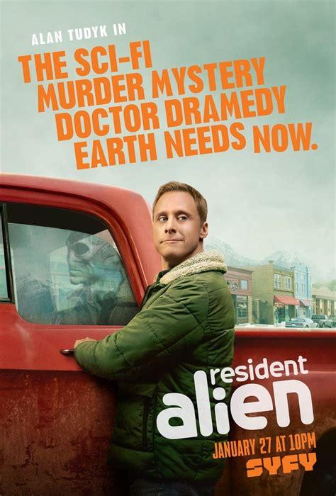 geekery alan tudyk  syfys resident alien bell