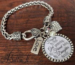 mother daughter bracelet personalized wedding mother With wedding gift from mom to daughter