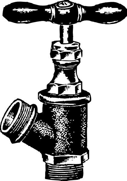 Faucet Plumbing clip art (104419) Free SVG Download / 4 Vector