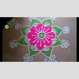Rangoli Designs With Flowers And Colours | 1280 x 720 jpeg 142kB