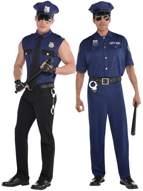 adults police costume mens policeman  fancy dress