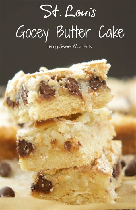 st louis gooey butter cake recipe living sweet moments