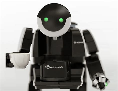 Robot Coffee Machines: The Tassimo BrewBot Commercial   Hizook