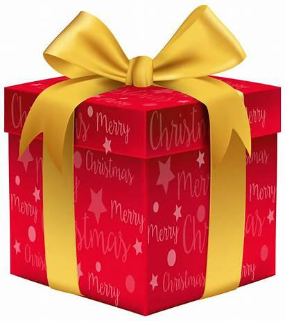 Clip Gift Clipart Merry Transparent Present Gifts