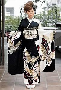 Moderne Japanische Kleidung : modeling a contemporary furisode japan image via pinterest promdress abendkleid geisha ~ Orissabook.com Haus und Dekorationen