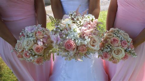 Bouquets Of Hydrangea, Vintage Pink Roses, Stocks Astilbe