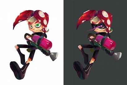 Splatoon Octoling Male Octopus Deviantart Octolings Inkling