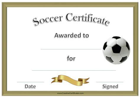 soccer award certificate examples  psd ai
