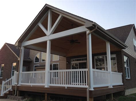open covered porches dayton cincinnati deck porch