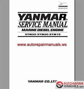 Engine Yanmar 3ym30 3ym20 2ym15 Service Manual