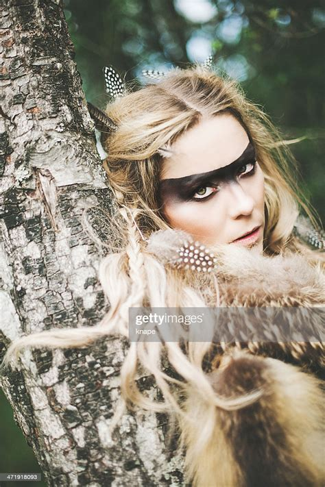 Beautiful Northern Elf Warrior Princess High-Res Stock ...
