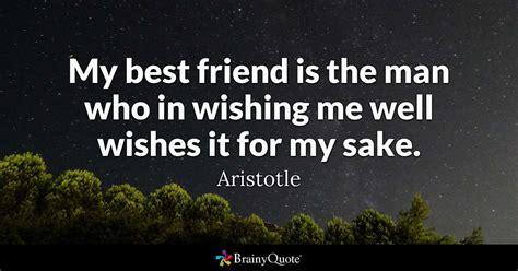 aristotle   friend   man   wishing