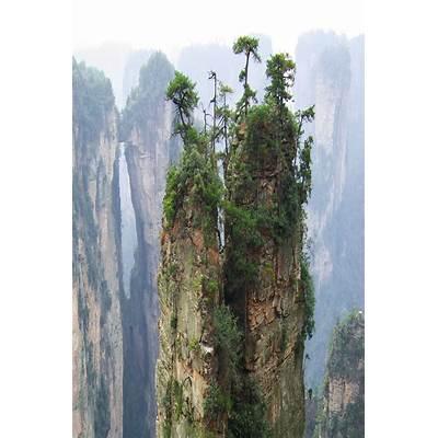 Zhangjiajie National Forest Park [Hunan China]måste