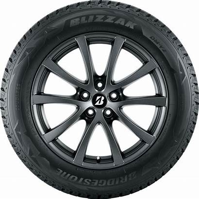 Wheel Tire Bridgestone Transparent Tires Blizzak Dm