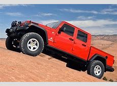 You Can Buy a Jeep Wrangler Pickup Right Now for