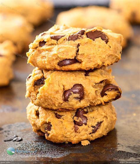 peanut butter chocolate chip  chickpea cookies gluten